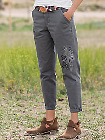 JAG Dana Chino With Embroidery