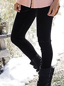 Stretch Velvet Leggings
