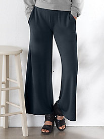 Wide Leg Baby French Terry Pants