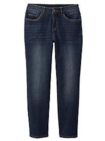 Sahalie Straight Leg Ankle Jeans