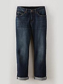 Sahalie Basic Boyfriend Jeans