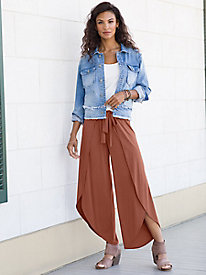 Lanai Wrap Skirted Pants