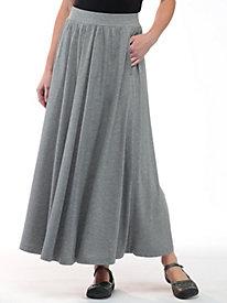 Infinity Knit Maxi Skirt