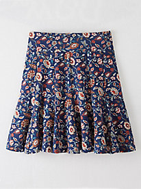 Bella Coola Print Flippy Skirt