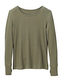 Fitted Thermal Knit Top