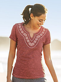 Aventura Maisie Short Sleeve Top