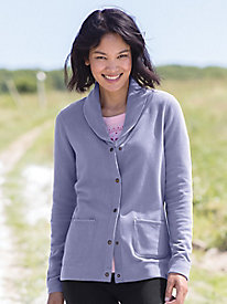 Butterfleece Light Shawl Collar Cardigan