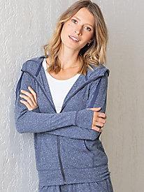 Zip Front Hoodie Jacket