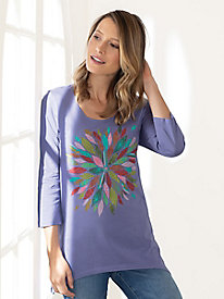 Saturday Market Graphic Tee Tunic