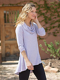 Long Sleeve Cowl Neck Tunic