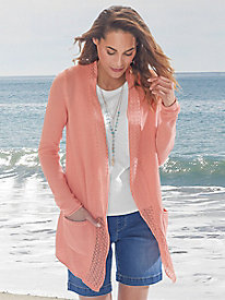Your Best Bet Lightweight Drape Front Cardigan