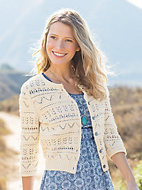 Pretty Pointelle Cardigan