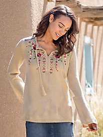 Ava Embroidered Sweater