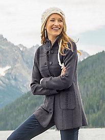 Reversible Boiled Wool Jacket
