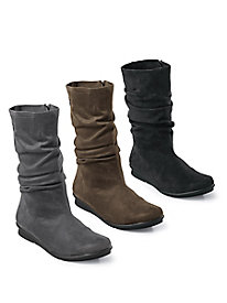 Bussola Lincoln Mid Slouch Stretch Boots