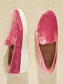 FitFlop Super Skate Velvet Loafers