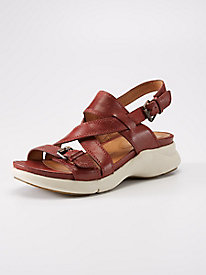 Bussola Heath Multi-Strap Wedge