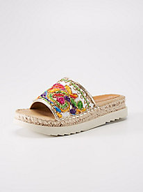 Patrizia Chill Embroidered Slide