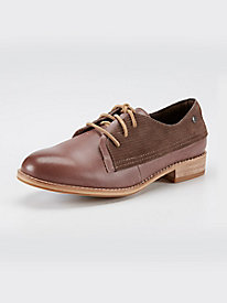 CAT Tally Suede Oxford Shoes
