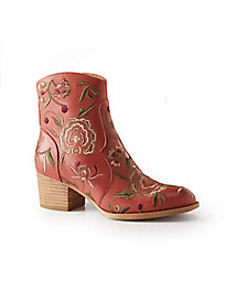 Sofft Westmont Embroidered Ankle Boots