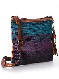 The Sak Lucia Hand Crocheted Crossbody Bag