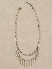 Double Fringe Necklace