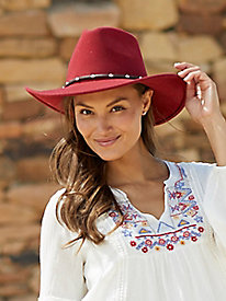 Bollman Studded Red Band Hat