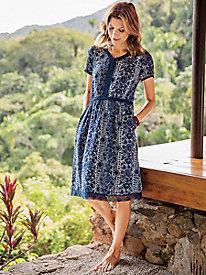 A-List Crochet Dress