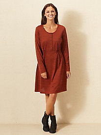Heather Canyon Henley Dress