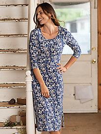 Bella Coola Scoop Neck Midi Dress