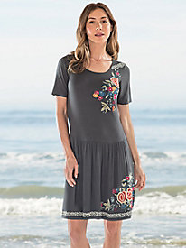 Cantina Embroidered Dress