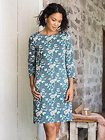 Print Little Best 3/4 Sleeve Dress