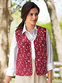 Patterned Tapestry Vest