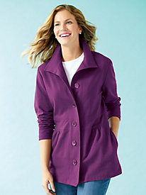 French Terry Tunic Jacket