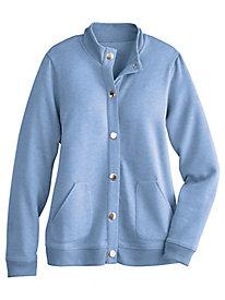 Updated Fleece Baseball Jacket
