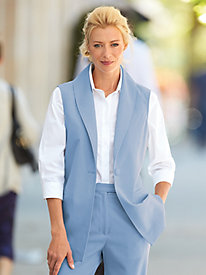 Single Button Vest