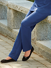 Ribbed Pull-On Pants