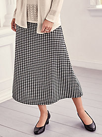 Knit Longer Length Skirt