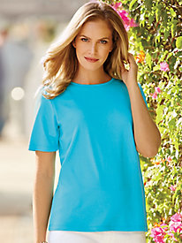 Short-Sleeve Interlock Tee