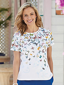 Butterfly Tee by Fabri-Tech®