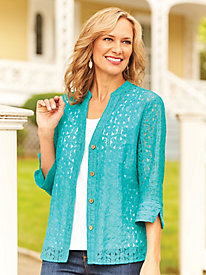 Light 'N Lacy Shirt Jacket