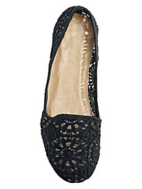 Everly Lace Slip-Ons By Classique®