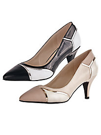 Divine Style Colorblock Pumps By Annie®