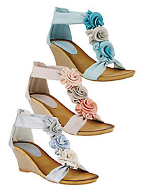 Floral Sandals From Patrizia By Spring Step®