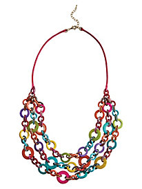 Tropical Circles Necklace