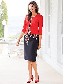 Floral Jacket Dress