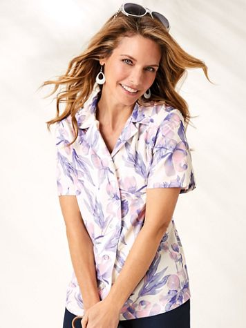 Short-Sleeve Monday To Sunday  Blouse - Image 1 of 10