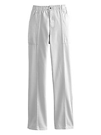 Cargo-Pocket Cotton Pants