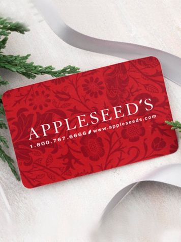 Appleseed's Gift Card