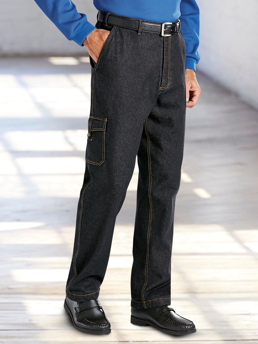50db2035 Haband - Arctic Bear™ Collection Fleece-Lined Jeans